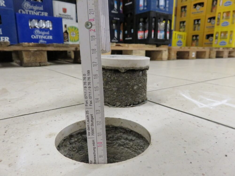 Schäden an Fußbodenkonstruktionen