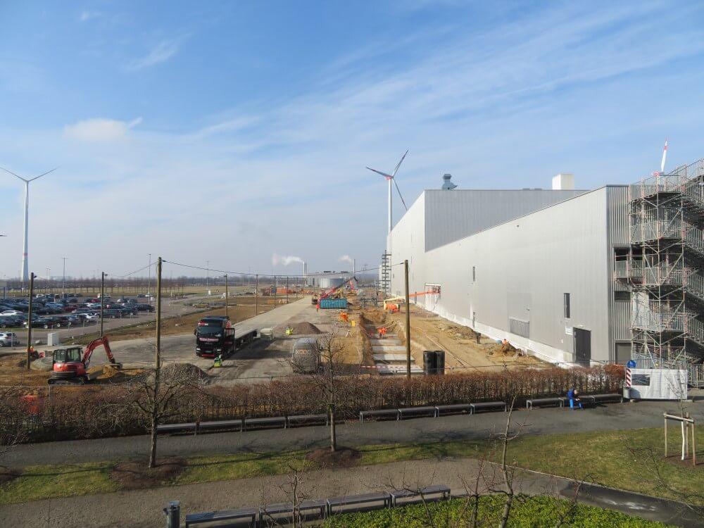 Vorsorgliche Beweissicherung für eine Industriehalle - Leipzig